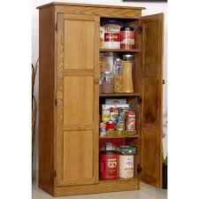kitchen tall freestanding wood kitchen pantry storage cabinet