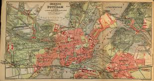 Lubeck Germany Map by