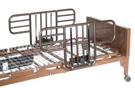 Invacare Hospital Beds Multi Height Manual Hospital Bed With Half Rails Enable Mobility