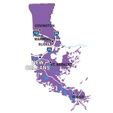 New Orleans Attractions Map by By The Region Five Great Places To Take The Kids Louisiana Travel
