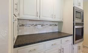 gray brick backsplash recessed panel cabinets how deep are