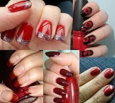 red nail art nail art design funky nail art cool nail art nail art