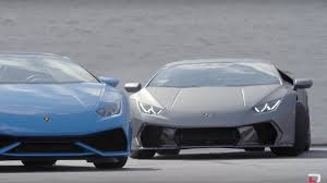Lamborghini Aventador Drift - watch this couple drift lamborghini huracan around dealer lot