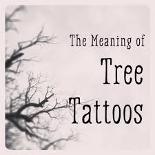 the meaning of tree tattoos tatring
