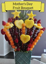 s day fruit bouquet how to make an edible bouquet