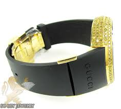 mens bracelet digital images Mens full diamond case igucci digital grammy edition watch 5 00ct jpg