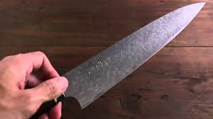 takeshi saji r2 diamond finish japanese gyuto chef knife with iron