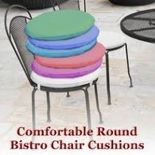 Outdoor Bistro Chair Pads Cushions Round Garden Chair Cushion Pad Only Waterproof Outdoor
