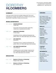 Artistic Resume Template A Mechanical Engineer Resume Template Gives The Design Of The