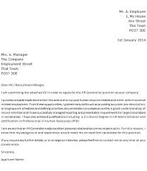 Examples Of Good Cover Letters by Good Cover Letter Dear Human Resources 76 For Your Simple Cover