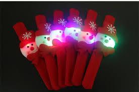 colorful santa claus band led christmas accessories luminous