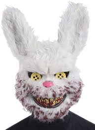 Easter Bunny Halloween Costume Snowball Mask Masks