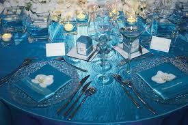 Blue Christmas Wedding Decorations by In Style Party Favors Blue Winter Wedding Ideas