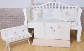All White Crib Bedding 100 Cotton Baby Bedding Set White Crib Bedding Set White