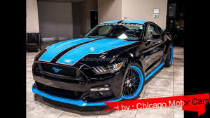 ford mustang modified ford mustang gt 2017 modified by richard petty chicago motor