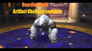Challenge Guardian Guardian Druid Artifact Challenge Complete 7 2 5