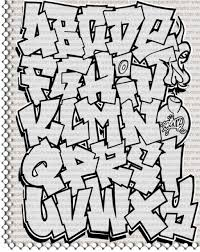 graffiti alphabet coloring pages cool graffiti abc coloring pages