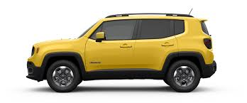 yellow jeep interior 2017 jeep renegade 4x4 capable suv