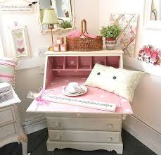 Shabby Chic Writing Desk by Beautiful Shabby Chic Vintage Desk 1950s Spots Pink