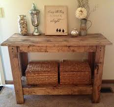 Small Entryway Table by Rustic Console Table For The Home Pinterest Rustic Console