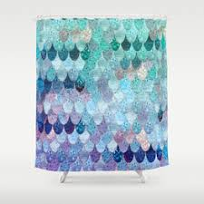 Vintage Mermaid Shower Curtain - shower curtains society6