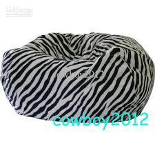 2017 zebra print beanbag chair living room bean bag cushion