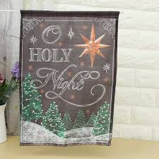 Cheap Home Decor From China Christmas Garden Flags Cheap Home Outdoor Decoration