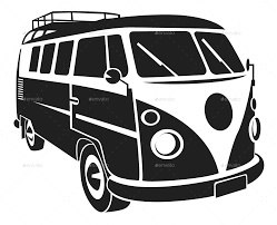 vw logos vw silhouette car set by vectorio graphicriver