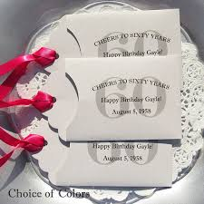 60th birthday party favors 60th birthday party 60th birthday favors favors
