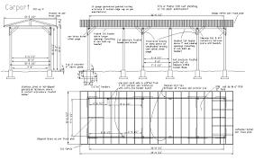 carport plan attached carport plans 10