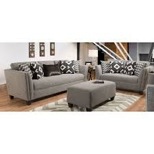 Gray Living Room Set Modern Contemporary Gray 2 Living Room Set Carbon Rc