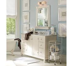Mirrored Bathroom Vanities Bathroom Pottery Barn Bathroom Vanity Pottery Barn Mirror