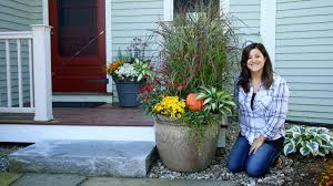 two fall container ideas garden answer youtube