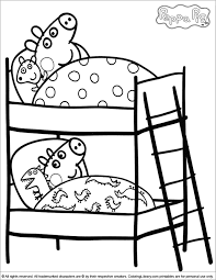 peppa pig valentines coloring pages peppa pig coloring picture with printable pages designs 11