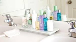 bathroom counter ideas impressive organized bathroom vanity ideas bathroom counter