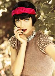 retro different ways to style short hair different ways to style