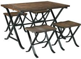 Dining Room Table Set by 6 Piece Dining Room Table Set With Bench By Signature Design By