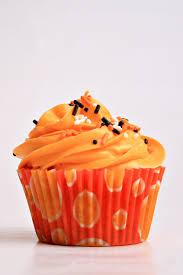orange halloween background halloween stay calm have a cupcake