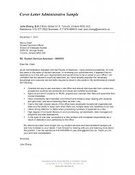 Sle Cover Letter Administrative Officer Administrative Specialist Cover Letter Awesome Collection Of