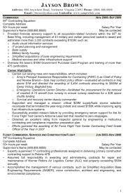 Federal Contract Specialist Resume Contract Specialist Resume Sample Purchasing Specialist Resume