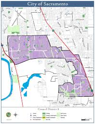 Maps Sacramento District 8 Map City Of Sacramento