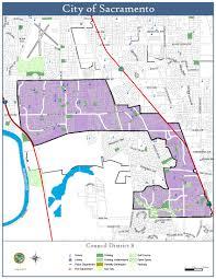 Map Of Sacramento District 8 Map City Of Sacramento