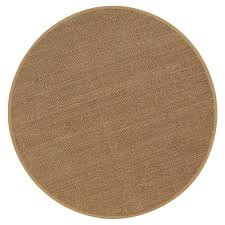 area rugs home decorators home decorators collection seascape natural 6 ft round area rug