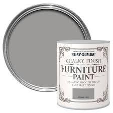 grey paint rust oleum rust oleum winter grey chalky matt furniture paint 750 ml