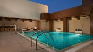 Pool At Night Hyatt Place Dubai Baniyas Square Photo Gallery Videos Virtual