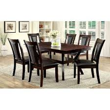 Dark Dining Room Table Dark Cherry 5 Piece Dining Set Brent Collection Rc Willey