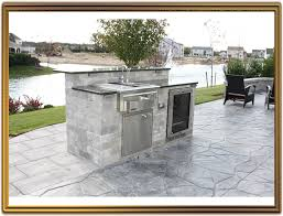 amazing outdoor kitchen cabinets kits intended for comfortable