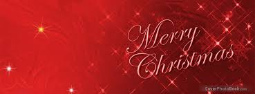 merry christmas sparkle facebook cover holidays