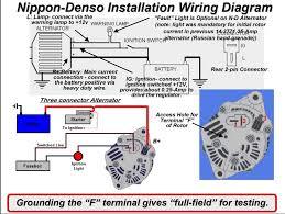 wiring diagram denso alternator wiring diagram 3 wire alternator