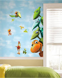 enliven your kids u0027 bedroom with dinosaur themed wall art and